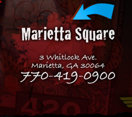 Visit Marietta Square Location - 770-419-0900