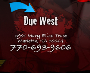 Visit Due West Location - 770-693-9606